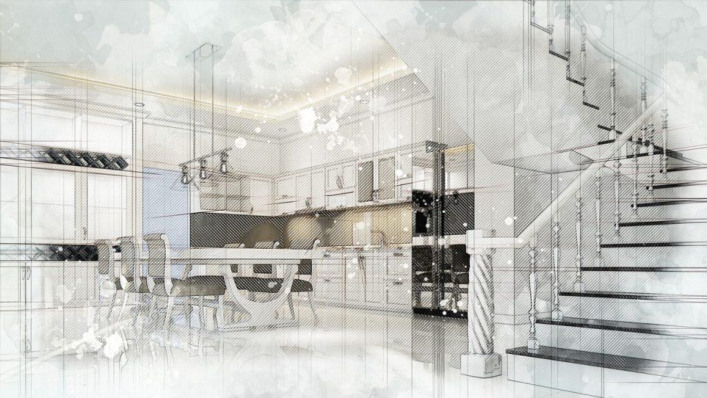 interior, neoclassical, design